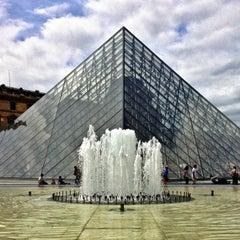 Photo taken at Musée du Louvre by Brett P. on 7/4/2013