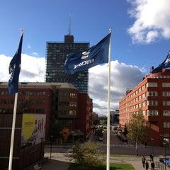 Photo taken at Ericsson Building 10 by Anastasia F. on 10/5/2012