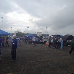 Photo taken at Lot 5 Ralph Wilson Stadium by Rocio M. on 9/30/2012