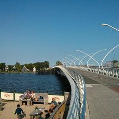 Photo taken at Julianabrug by Vladimir S. on 7/9/2013