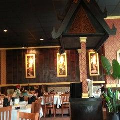 Photo taken at Bangkok Sushi by Rebecca and Jeff C. on 7/21/2013
