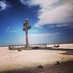 Photo taken at Metaphor: The Tree Of Utah by Xuedi C. on 8/17/2013