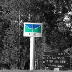 Photo taken at Universidade de Brasília (UnB) by Helder R. on 3/1/2013