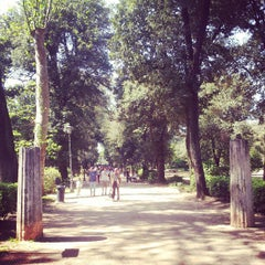 Photo taken at Villa Borghese by Stefano S. on 4/28/2013
