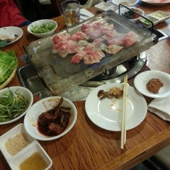 Photo taken at Han Joo by Colleen Y. on 9/17/2012