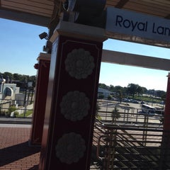 Photo taken at Royal Lane Station (DART Rail) by Pam V. on 10/20/2013