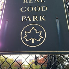 Photo taken at Real Good Park by Tom C. on 10/18/2012