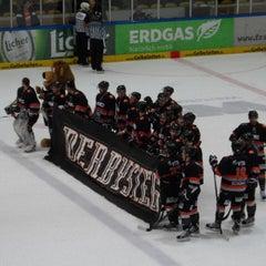 Photo taken at Eissporthalle Frankfurt by ak_74 on 3/8/2013