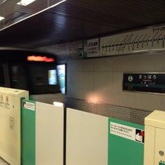 Photo taken at 地下鉄 さっぽろ駅 (N06/H07) by Kazumi F. on 8/12/2013