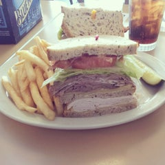 Photo taken at Frances' Deli by Andres G. on 3/30/2013