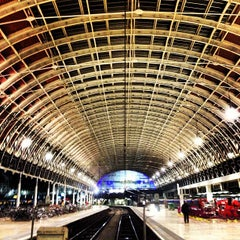 Photo taken at London Paddington Railway Station (PAD) by Anwarul B. on 12/12/2012