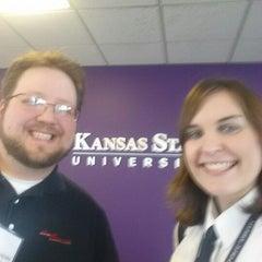 Photo taken at Kansas State University Salina by Sabrina Z. on 2/19/2014