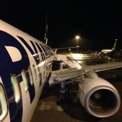 Photo taken at Frankfurt Hahn Airport (HHN) by Dora Z. on 12/30/2012