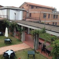Photo taken at Hotel Beniamino Ubaldi by Luca D. on 8/28/2013
