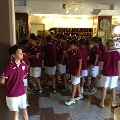 Photo taken at Hotel Beniamino Ubaldi by Luca D. on 8/31/2013