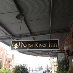 Photo taken at Napa River Inn by Dean O. on 3/2/2013