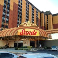 Photo taken at Sands Regency Casino & Hotel by Dan E. on 9/4/2013