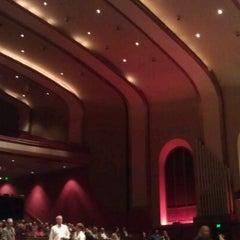 Photo taken at IU Auditorium by Marianna K. on 10/1/2012