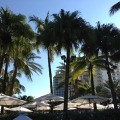 Photo taken at Loews Miami Beach Pool by Sebastian S. on 11/25/2012
