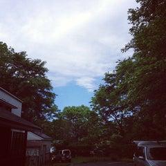 Photo taken at プチホテル ちょっと屋 Garden by Takamasa W. on 6/16/2013