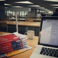 Photo taken at Deutsche Nationalbibliothek by Maximilian L. on 10/20/2012