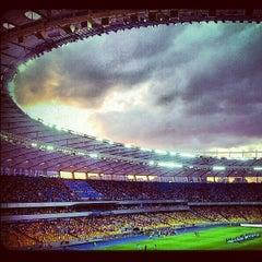 Photo taken at НСК «Олімпійський» / Olimpiyskiy Stadium by Кристина М. on 6/30/2013