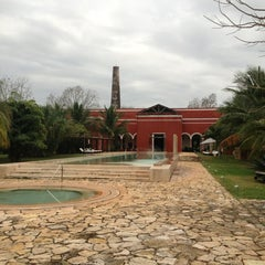 Photo taken at Hacienda Temozon by Rodrigo H. on 1/19/2013