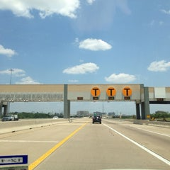 Photo taken at President George Bush Turnpike (PGBT) by Jason B. on 7/2/2013