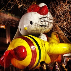 Photo taken at Macy's Parade Balloon Inflation by Jenn P. on 11/22/2012