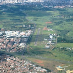 Photo taken at Aeroporto Estadual Campo dos Amarais (CPQ/SDAM) by Dedy M. on 11/6/2012