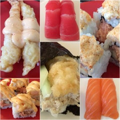 Photo taken at Sushi Q by Brian K. on 6/28/2014
