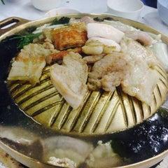 Photo taken at หมูกระทะ ช้างเผือก (Chang Phuek BBQ) by ซาโซชิ ซ. on 9/12/2015