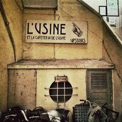 Photo taken at L'USINE: Et la Cafeteria de L'Usine by Viktor N. on 6/3/2013