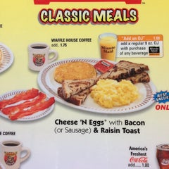 Photo taken at Waffle House by James on 1/12/2014