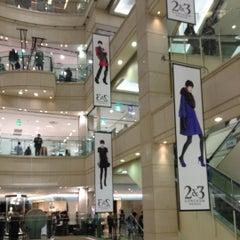 Photo taken at 신세계백화점 (SHINSEGAE Department Store) by Leeon K. on 10/4/2012