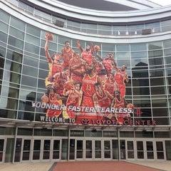 Photo taken at Toyota Center by Juan E. on 5/24/2013