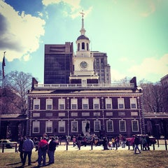 Photo taken at Independence Hall by Alan M. on 3/30/2013