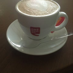 Photo taken at Cafe Coffee Day by Shriram S. on 3/20/2013