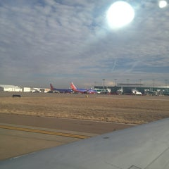 Photo taken at Gate 2 by Shannon J. on 1/24/2013