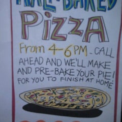 Photo taken at Fiddlehead Pizza by Brian L. on 12/9/2012