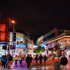 Photo taken at Third Street Promenade by Rich B. on 11/2/2012