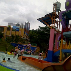 Photo taken at Citra Garden Water Park by othrie b. on 12/24/2012