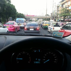 Photo taken at แยกลำสาลี (Lam Sali Intersection) by Tha T. on 11/9/2012
