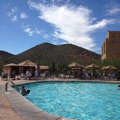 Photo taken at JW Marriott Tucson Starr Pass Resort & Spa by Brandon S. on 10/7/2012