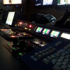 Photo taken at TV da Igreja Universal by Dante D. on 10/25/2012