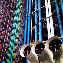 Photo taken at Centre Pompidou – Musée National d'Art Moderne by Bruno M. on 6/12/2013