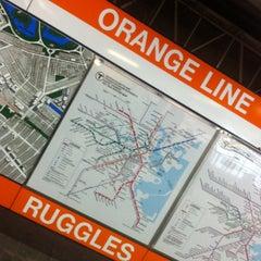 Photo taken at MBTA Ruggles Station by Joselin M. on 3/20/2013