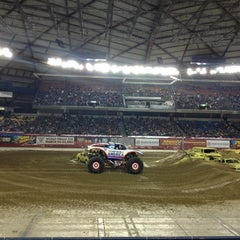 Photo taken at Tacoma Dome by Olga P. on 1/5/2013