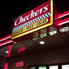 Photo taken at Checkers by John S. on 2/5/2013