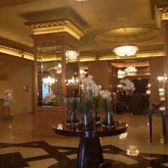 Photo taken at The Westin Palace Milan by Spora V. on 2/10/2013